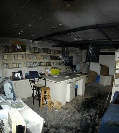 Smoke Damage and Odor Removal Services