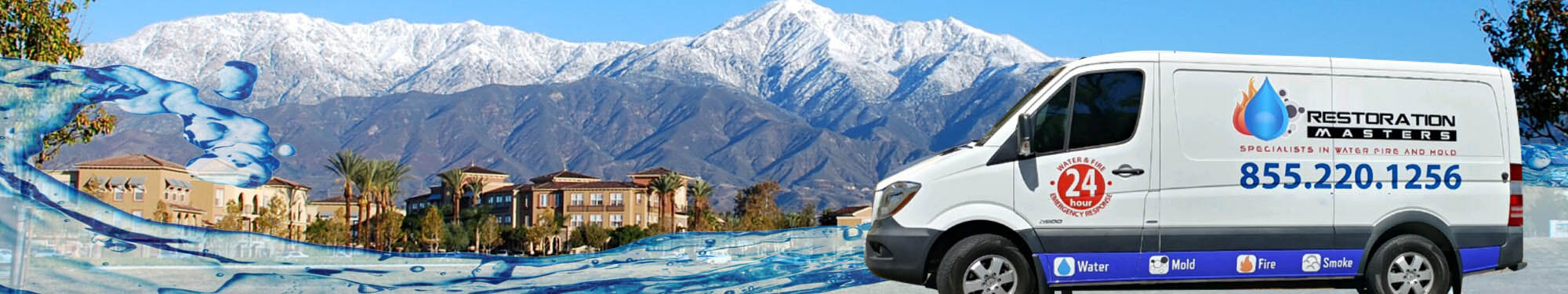 Rancho Cucamonga Water Restoration Services