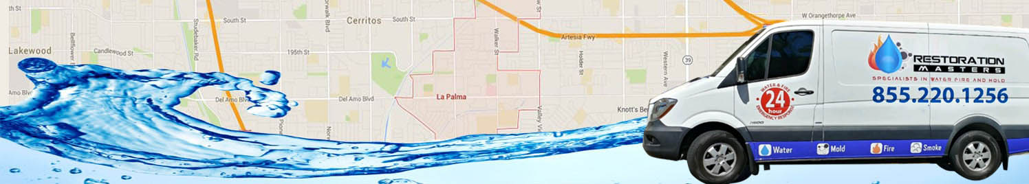 Water Damage La Palma, California