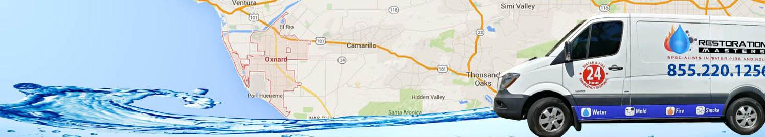 Water Damage Removal Oxnard, California